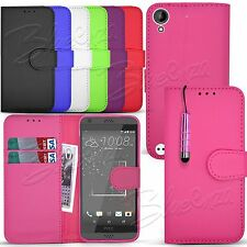 For HTC Desire E8 616 816 510 300 M7 M4Wallet Leather Case Book Cover + Stylus