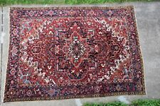 Antique Genuine Heriz Rug Serapi 9x12 Beautiful Colors