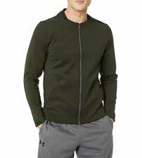 Under Armour Ua Mens Recovery Track Elite Dark Green Jacket Bomber M