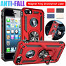 For Apple iPhone SE 5 5s Case Shockproof Armor Magnetic Ring Stand Hybrid Cover