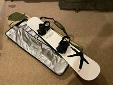 Kessler The Ride 158cm Snowboard With Large Go Drive Bindings And Bag