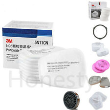 Dust gas Mask Respirator Accessories Parts Filter Cotton Cartridge For 3M Series