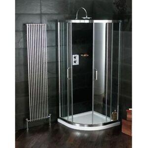 Atlas 800 x 800 Sliding Quadrant Shower Enclosure incl. Tray & Waste   RRP: £799