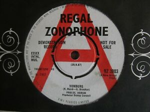 PROCOL HARUM - HOMBURG  1967 ***RARE REGAL ZONOPHONE PSYCH DEMO/PROMO***