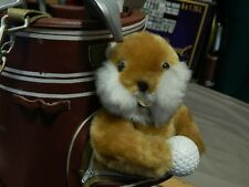 "Caddyshack 1980 Comedy ~ Gopher w/ Dancing Golf Clubs in Bag ~ ""I'm Alright"" ^v^"
