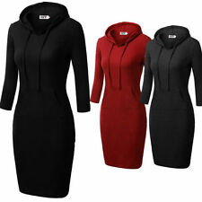 Unbranded Solid Shift Dresses for Women