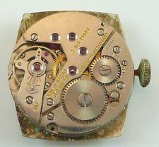 Vintage Benrus Mechanical Wristwatch Movement - Model BA 2 - Parts / Repair