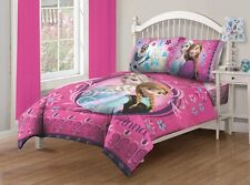 Comforter Full Size Frozen Anna Elsa Disney Shams Sheet Set Princess Bedroom New