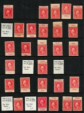US #499 2c Washington, Flat Press. 830 Plate Number Singles Mint OGPH