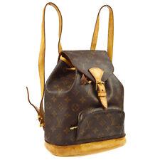 Louis Vuitton Montsouris MM Zaino Bag Purse Monogramma M51136 SP0030 A46968
