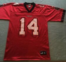 Tampa Bay Buccaneers Large Brad Johnson #14 jersey Puma Red