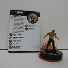DC HeroClix The Joker's Wild! El Diablo #039 w/ Card & Fire FX Base E02