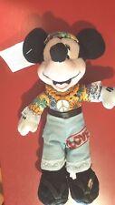 """Disney 8""""Hippie Minnie Mouse Mini Bean Bag Beanie w/ tags 70's Peave"""