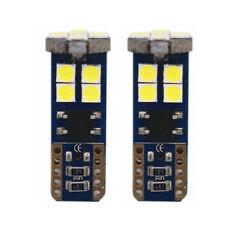 2Pcs Canbus T10 3030 12SMD LED Super White Car Side Light Lamp Wedge Bulb YX