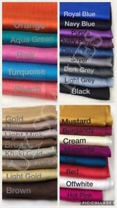 Plain Color Shiny Shimmer Silk Element Scarf Hijab Shawl Wrap Wedding