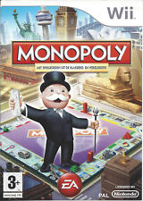 MONOPOLY for Nintendo Wii - with box & manual - PAL