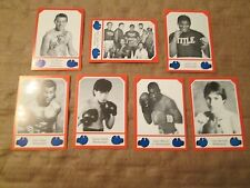 1987 Brown's Boxing Cards THE COMPLETE 30 CARD SERIES FOUR (101 THRU 130)