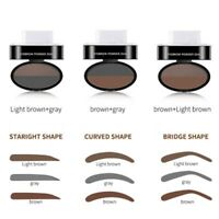 Waterproof Eyebrow Stamp Powder Natural Delicate Shape Eye  Eyebrow Powder