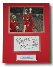 More details for brian hall in liverpool shirt signed autograph photo display memorabilia coa