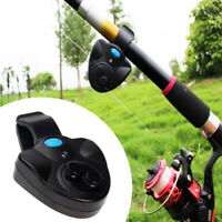 Electronic LED Indicator Light Fishing Bite Sensitive Sound Alarms Bell Rod Clip