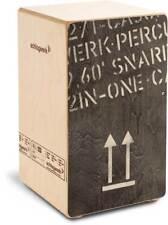 Schlagwerk 2inOne Cajon (Black Edition, Large) - CP 404 BLK