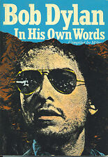 BOB DYLAN  In His Own Words  large paperback book from 1978