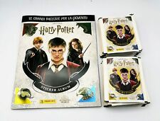 HARRY POTTER SAGA album vuoto + 50 bustine figurine Panini in omaggio