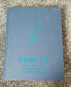 How To Limited Uncorrected Proof ARC Randall Munroe
