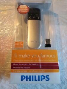 Philips Wireless Presenter Remote, PowerPoint Presentation Clicker 2.4G SNP60000