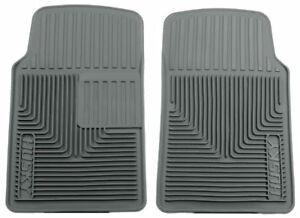 Husky Liners Heavy Duty Gray Front Floor Mats for 93-97 Ford Probe & More