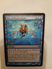 MTG. RITE OF REPLICATION (1). ZENDIKAR. RARE. MINT/NM. MAGIC