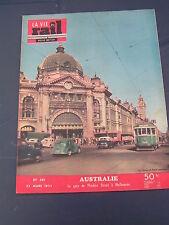 vie du rail 1953 391 MADAGASCAR AUSTRALIA MELBOURNE DANDENONG TRARALGON RAILWAY