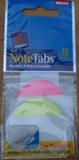 Avery 2 X 15 Note Tabs Durable Repositionable 10 Tabs 16307 New