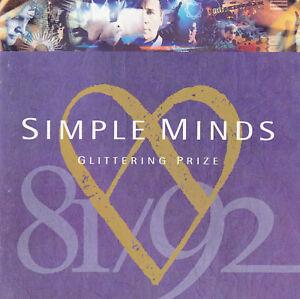 "CD ALBUM  SIMPLE MINDS   ""GLITTERING PRIZE"""