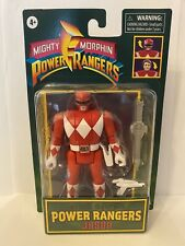 """RETRO Mighty-Morphin Power Rangers RED JASON 6"""" Action Figure Spinning Head"""