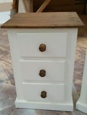 Handmade Country Height 3 Chests of Drawers