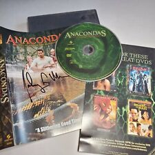 Anacondas DVD Signed By Johnny Messner