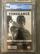 CGC 9.0 Vengeance #2 2nd Appearance America Chavez MARVEL 2011 Dell Otto - Rare