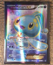 Pokemon Card   MANAPHY  EX  Ultra Rare FULL ART 116/122  BREAKPOINT ***MINT***