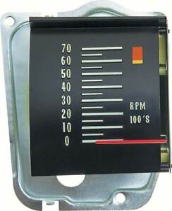 1968 Chevrolet Chevelle Tachometer w/6000 RPM Redline