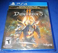 Dungeons II Sony PlayStation 4 *Factory Sealed *Free Shipping!