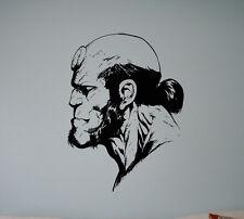 Hellboy Superhero Vinyl Decal Comics Hero Wall Vinyl Stickers Home Interior 25