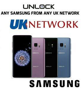 Network Unlock code Samsung J4 J4+ Note 10 S10 Plus S9 Plus O2 EE Vodafone BT UK