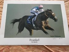 Limited Edition Frankel Print Fantastic !