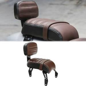 Rear Seat Backrest + Backrest For Indian Scout Bobber 18-20 Bobber Sixty ABS 20