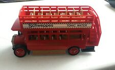 Matchbox 1982 Models Of Yesteryear 1922 Bus Y-23 Schweppes Tonic Water