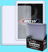 10 BCW 108pt 2.75MM THICK TOPLOADERS Trading Card Holder Sports Relic Topload