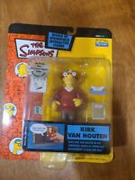 Playmates The Simpsons KIRK VAN HOUTEN Figure World of Springfield Series 11