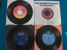 "4 x Vinyl 7"" Single-SANTANA/LONG TALL ERNIE/JOHN MILES/Barry White-NEUF LOT"