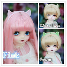 Green/Rice white/Pink Cat Ear Accessorie/Headwear For 1/3 BJD SD DD LUTS DOLLFIE
